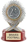 Trophy with Medal -- RF0-1C8-T Resin Trophies