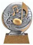 Music Trophy -- MX1-3512 Resin Trophies