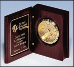 Wood Book Clock --  BC0-469 Table Top Clocks