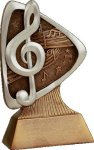 Music Resin Award -- TR0-3D1-T The Arts - Music, Drama, etc.