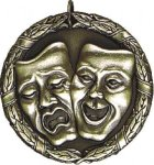 Drama XR Medal -- XR0-1256 The Arts - Music, Drama, etc.