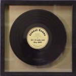 Framed Record -- AF0-0REC-C The Arts - Music, Drama, etc.