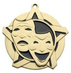 Drama SS Medal -- 430-1117-S The Arts - Music, Drama, etc.