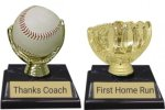 Baseball / Softball Trophy -- DM0-0IT-T Traditional Trophies
