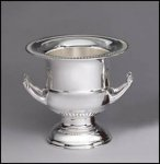 Silver Wine Cooler -- 370-40-S Unengraved Gifts