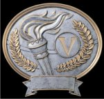 Victory Oval Award -- 540-1200 Victory Trophies
