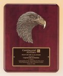 Eagle Head Plaque -- P30-4753-S Wood Plaques