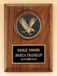 Eagle Walnut Plaque -- P30-4168-S Wood Plaques