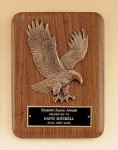 Eagle Walnut Plaque -- P10-468X-S Wood Plaques