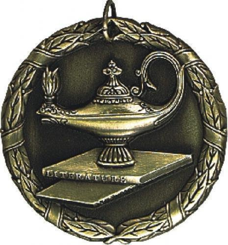 Scholastic Medal -- XR0-1250 Engraved Medals and Dogtags
